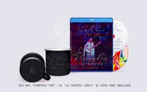 Pachet Premium Simfonic Pur (BD) × La capătul lumii (CD) × 2 căni